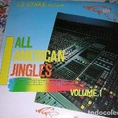 Discos de vinilo: ALL AMERICAN JINGLES STREET SHIT VOLUME 1. Lote 194519505