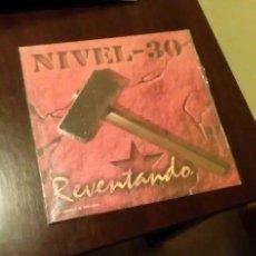 Discos de vinilo: NIVEL 30. REVENTANDO. PUNK HARDCORE. Lote 194519617