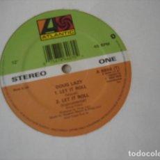 Discos de vinilo: DOUG LAZY LET IT ROLL. Lote 194520106