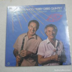 Discos de vinilo: BUDDY DEFRANCO/TERRY GIBBS QUINTET - HOLIDAY FOR SWING - LP 1988 USA PRECINTADO . Lote 194520796