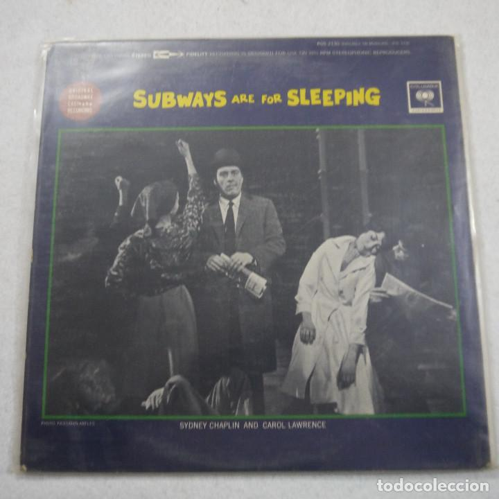 Discos de vinilo: SUBWAYS ARE FOR SLEEPING - LP - Foto 2 - 194521097