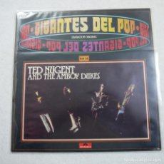 Discos de vinilo: GIGANTES DEL POP N.º 20 - TED NUGENT AND THE AMBOY DUKE - LP 1981 . Lote 194521281