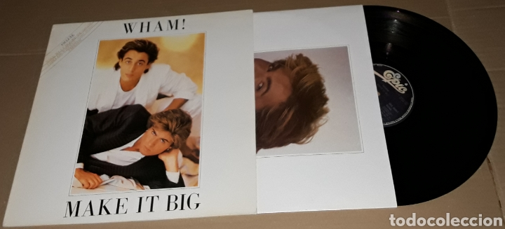 LP - WHAM ! - MAKE IT BIG - PROMO - WHAM / GEORGE MICHAEL - PROMOCIONAL (Música - Discos - LP Vinilo - Pop - Rock - New Wave Extranjero de los 80)