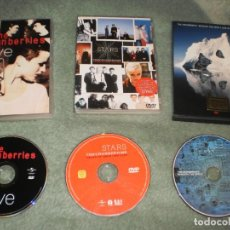 Discos de vinilo: VENDO LOS 3 ÚNICOS DVDS MUSICALES OFICIALES DE LA BANDA THE CRANBERRIES CON DOLORES O´RIORDAN. Lote 194521643