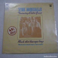 Discos de vinil: THE EQUALS FEATURING EDDIE GRANT - BLACK SKIN BLUE EYES BOYS - MAXISINGLE 1982 . Lote 194521782