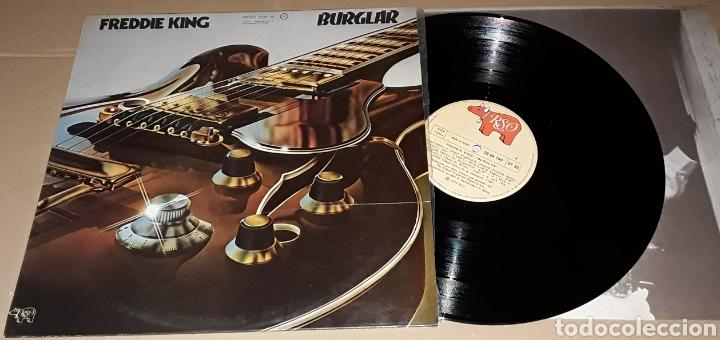 LP - FREDDIE KING - BURGLAR - FREDDIE KING (Música - Discos - LP Vinilo - Jazz, Jazz-Rock, Blues y R&B)