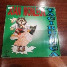 Discos de vinilo: JOAN MONLEON-TACIRUPECA. MAXI. Lote 194522012