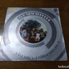 Discos de vinilo: THE NEW SEEKERS - SINGLE- CIRCULOS / REINA MISTICA-ESPAÑA 1972. Lote 194523192