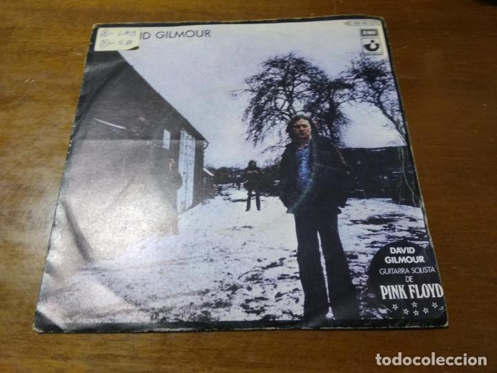 DAVID GILMOUR ‎– THERE'S NO WAY OUT OF THERE / DEAFINITELY / ESPAÑA 1978 (Música - Discos - Singles Vinilo - Pop - Rock - Extranjero de los 70)