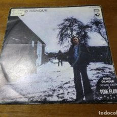 Discos de vinilo: DAVID GILMOUR ‎– THERE'S NO WAY OUT OF THERE / DEAFINITELY / ESPAÑA 1978. Lote 194525913