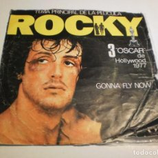 Discos de vinilo: SINGLE ROCKY. GONNA FLY NOW. YOU TAKE MY HEART AWAY. UNITED 1977 SPAIN (PROBADO Y BIEN). Lote 194526226