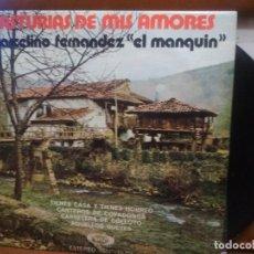Discos de vinilo: ASTURIAS DE MIS AMORES / MARCELINO FERNANDEZ EL MANQUIN / TIENES CASA Y TIENES HORREO ...EP . Lote 194526611