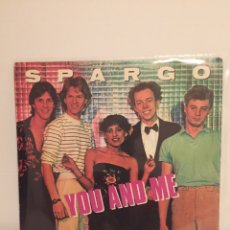 Discos de vinilo: SPARGO-/YOU AND ME/WORRY/-SINGLE 1980 WEA 45-1971. Lote 194526655