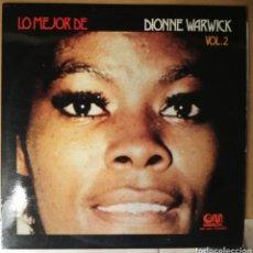 Discos de vinilo: DIONNE WARWICK - LO MEJOR VOLUMEN 2 - VINILO. Lote 194526837