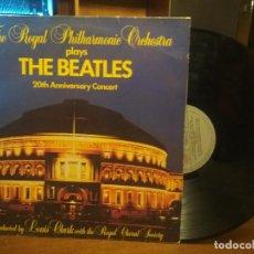 Discos de vinilo: THE ROYAL PHILHARMONIC ORCHESTRA PLAYS THE BEATLES 20TH ANNIVERSARY CONCERT LP 1983 ED ESPAÑOLA. Lote 194528453