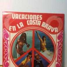 Discos de vinilo: VACACIONES EN LA COSTA BRAVA / LOS DIABLOS- LOS AMAYA Y SU COMBO GITANO- LOS JABALOYAS. Lote 194528740