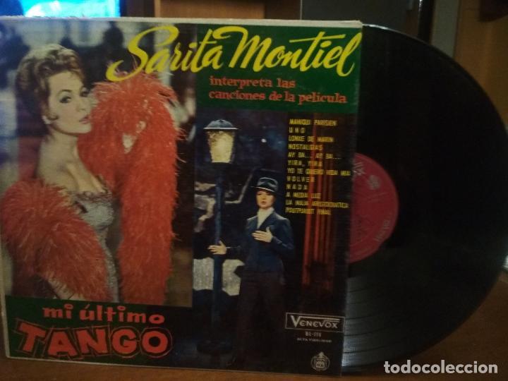 SARITA MONTIEL - MI ULTIMO TANGO (LP VENEVOX HECHO EN VENEZUELA) SARA MONTIEL (Música - Discos - LP Vinilo - Bandas Sonoras y Música de Actores )