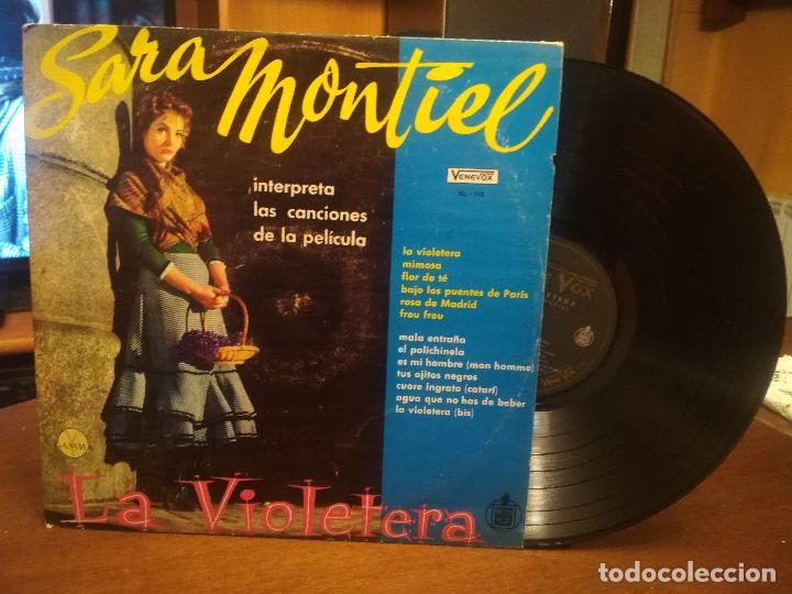 SARA MONTIEL INTERPRETA LAS CANCIONES DE LA PELICULA LA VIOLETERA- VENEZUELA (Música - Discos - LP Vinilo - Bandas Sonoras y Música de Actores )
