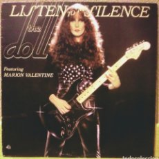 Discos de vinilo: THE DOLL - LISTEN TO THE SILENCE LP BEGGARS BANQUET 1979. Lote 194530656