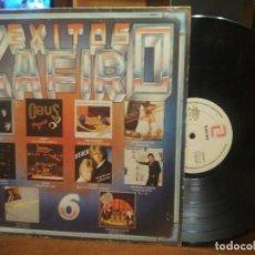 Discos de vinilo: LP EXITOS ZAFIRO 6 - VARIOS ARTISTAS - KORGIS, ATACK, CUTUGNO, TEQUILA, BARON ROJO, OBUS, LEÑO. Lote 194530765