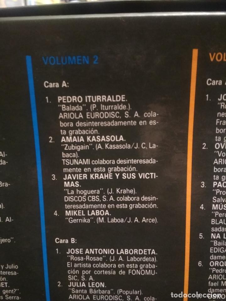 Discos de vinilo: HOMENAJE A LAS VICTIMAS DEL FRANQUISMO - 4 LP + LIBRETO - SABINA / JAVIER KRAHE / PACO MUÑOZ PEPETO - Foto 12 - 194531307