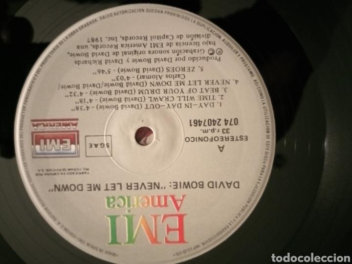 Discos de vinilo: David Bowie - Never Let me Down - vinilo - Foto 3 - 194531378