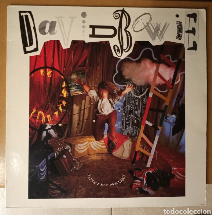 DAVID BOWIE - NEVER LET ME DOWN - VINILO (Música - Discos - LP Vinilo - Pop - Rock - New Wave Extranjero de los 80)