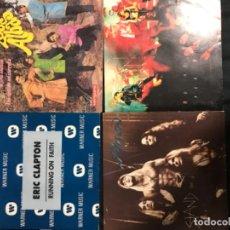 Discos de vinilo: VINILOS VARIOS (ERIC CLAPTON, LOS ALBAS, POISON, SAU). Lote 194532661