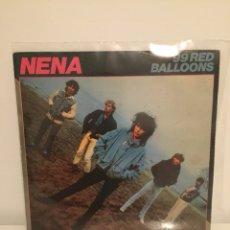 Discos de vinilo: NENA-/99 RED BALLOONS-/ME QUEDO EN LA CAMA/ SINGLE 1983 CBS A-4186. Lote 194534613