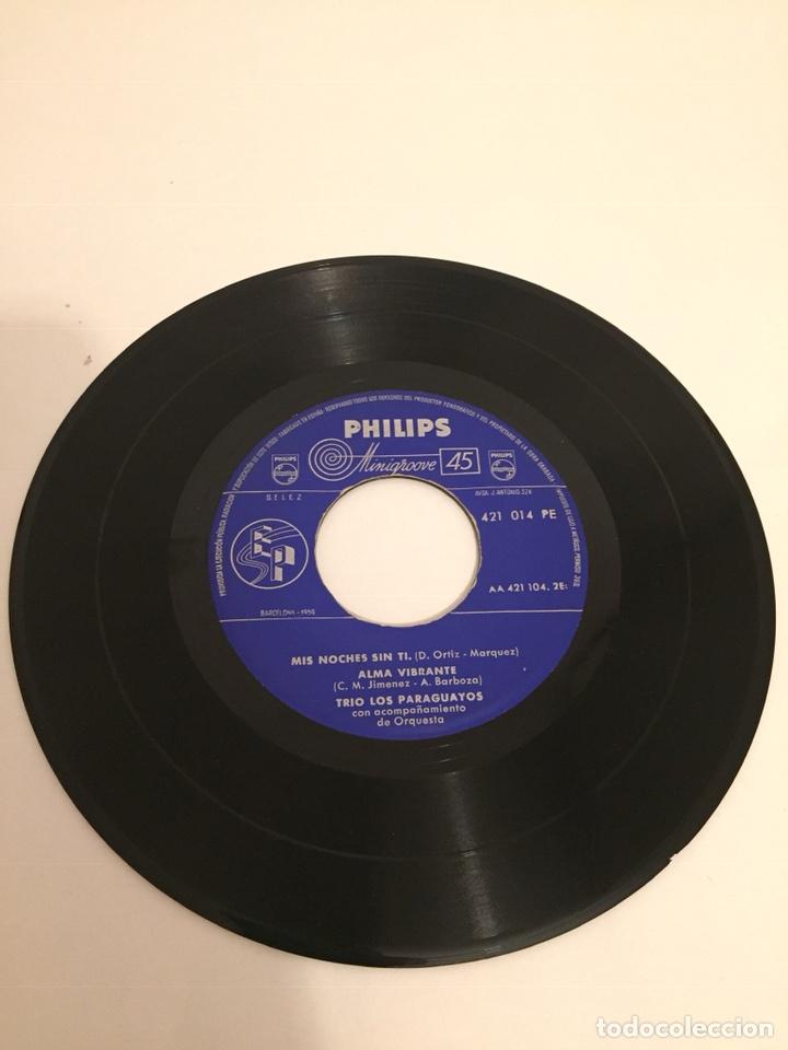 Discos de vinilo: TRIO LOS PARAGUAYOS-/MIS NOCHES SIN TI/ALMA VIBRANTE/MADRECITA/+1/EPs 1959 PHILIPS 421 014 - Foto 2 - 194535168