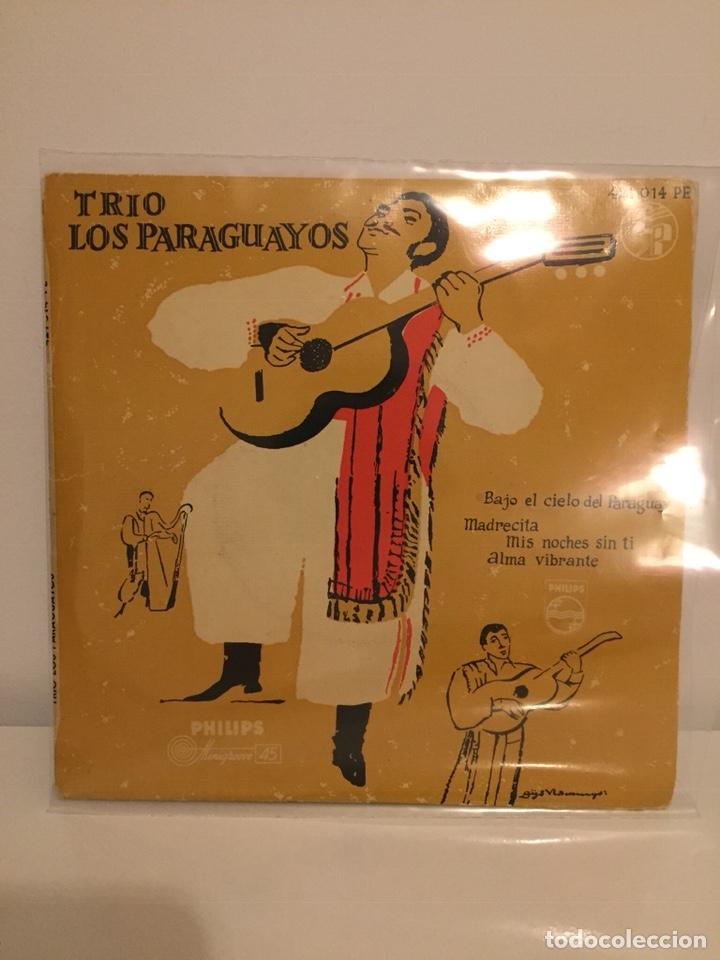 TRIO LOS PARAGUAYOS-/MIS NOCHES SIN TI/ALMA VIBRANTE/MADRECITA/+1/EPS 1959 PHILIPS 421 014 (Música - Discos de Vinilo - EPs - Grupos y Solistas de latinoamérica)