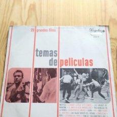 Discos de vinilo: TEMAS DE PELICULAS. 28 GRANDES FILMS. 1967. Lote 194535260