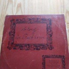 Discos de vinilo: BEETHOWEN. SINFONÍA Nº 9 EN RE MENOR. 1972. Lote 194535302
