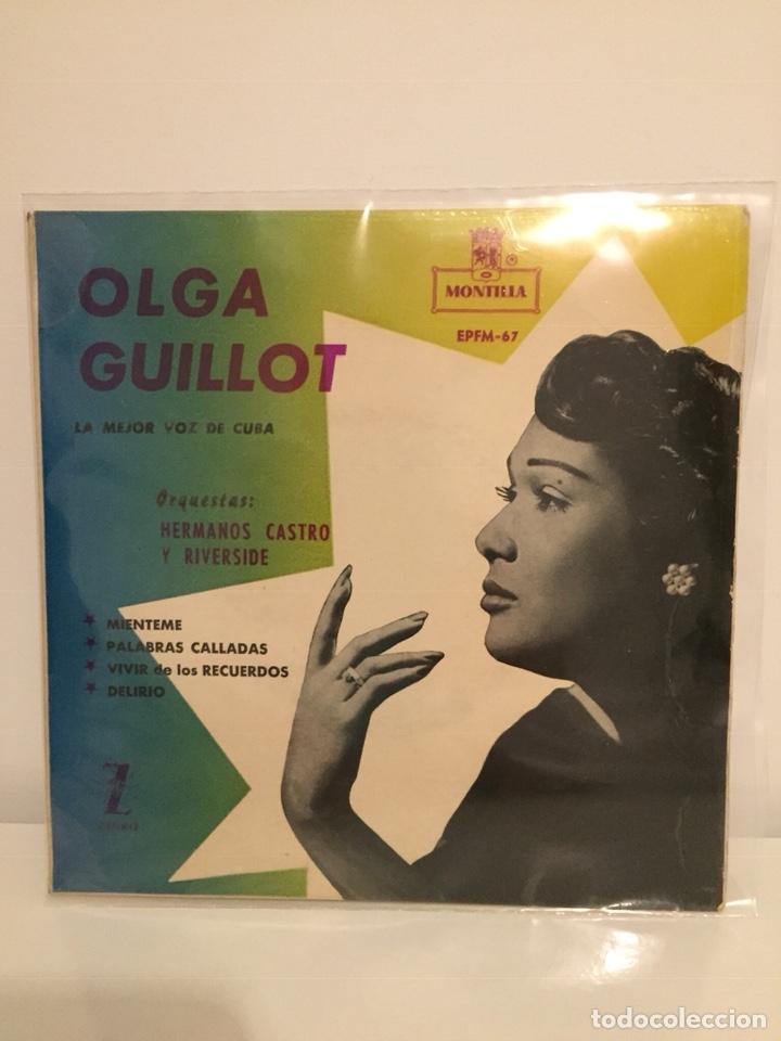 OLGA GUILLOT-/MIENTEME/PALABRAS CALLADAS/DELIRIO/VIVIR DE LOS RECUERDOS/EP J8-OH-4602 ESPAÑA (Música - Discos de Vinilo - EPs - Grupos y Solistas de latinoamérica)