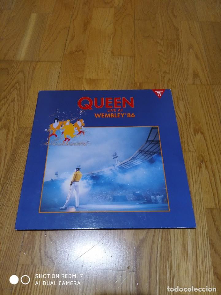 VINILO QUEEN - LIVE AT WEMBLEY 86. (Música - Discos - LP Vinilo - Pop - Rock - New Wave Extranjero de los 80)