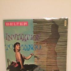 Discos de vinilo: INVITATIONS TO TANGO-/ADIOS MUCHACHOS/EL CHOCLO/CELOS/LA CUMPARISTA/EP 1960 BELTER 50.331/ ESPAÑA. Lote 194536602