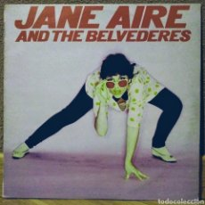 Discos de vinilo: JANE AIRE & THE BELVEDERES LP VIRGIN 1980. Lote 194537668