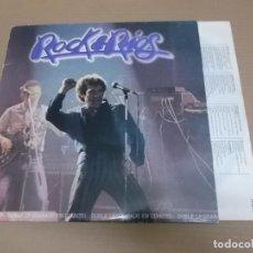 Discos de vinilo: MIGUEL RIOS (LP) ROCK & RIOS AÑO – 1982 – DOBLE DISCO – ENCARTE CON LETRAS. Lote 194537887