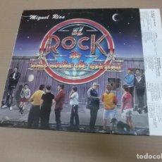 Discos de vinilo: MIGUEL RIOS (LP) EL ROCK DE UNA NOCHE DE VERANO AÑO – 1983 – ENCARTE CON LETRAS. Lote 194537947