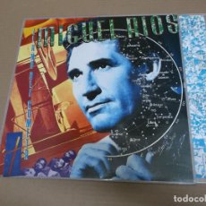 Discos de vinilo: MIGUEL RIOS (LP) EL AÑO DEL COMETA AÑO – 1986 – ENCARTE CON LETRAS. Lote 194538040