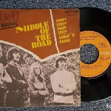 Discos de vinilo: MIDDLE OF THE ROAD - CHIRPY,CHIRPY, CHEEP / RAININ´N´RAININ. EDITADO POR RCA. AÑO 1.971. Lote 194538390