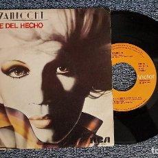 Discos de vinilo: IVA ZANICCHI - APARTE DEL HECHO / LA VALIJA. SINGLE EDITADO POR RCA. AÑO 1.980. Lote 194540083