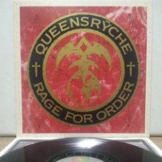 Discos de vinilo: QUEENSRYCHE - RAGE FOR ORDER 1986 ED HOLANDESA CON ENCARTE. Lote 194543207