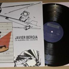 Discos de vinilo: LP - JAVIER BERGIA - LA ALEGRÍA DEL COYOTE - BERGIA. Lote 194548278