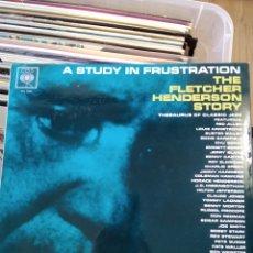 Discos de vinilo: FLETCHER HENDERSON – A STUDY IN FRUSTRATION (THE FLETCHER HENDERSON STORY) VOLUME 3. Lote 194548537
