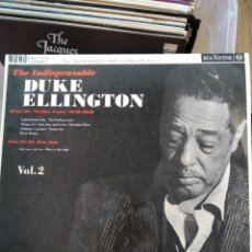 Discos de vinilo: DUKE ELLINGTON ‎– THE INDISPENSABLE DUKE ELLINGTON VOL.2. Lote 194548692
