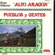 Discos de vinilo: GRUPO FOLCLORICO ALTO ARAGON DE JACA . Lote 194549182