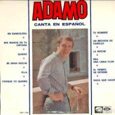 Discos de vinilo: ADAMO. Lote 194549545
