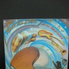 Discos de vinilo: THE FANIA ALL STARS. LO QUE PIDE LA GENTE. LP MANZANA PRODUCCIONES DISCOGRAFICAS 1984.. Lote 194554490