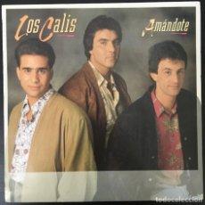 Discos de vinilo: LOS CALIS – AMÁNDOTE FONOMUSIC  89.2880 LP 1990 VINILO EXCELENTE.. Lote 194557071